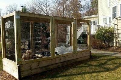 Yard2Kitchen 12-foot garden and fencing