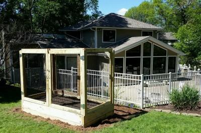 Yard2Kitchen backyard organic garden