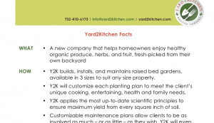 Yard2Kitchen Fact Sheet2