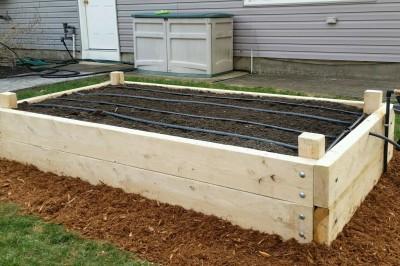 Yard2Kitchen organic gardens automatic irrigation
