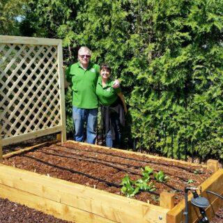 Gardeners ready to plant! #organicgardening #organicgardens #organicveggies #raisedbedgardens #healthyfood#